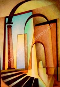 Arcos y escalera (1)