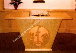 Altar capilla buen pastor
