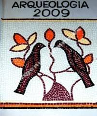 Mosaico pájaros