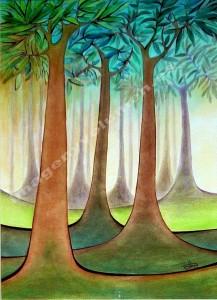 La cuna del bosque